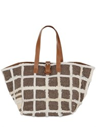 Carmina Campus Karla Recycled Shearling Tote Bag