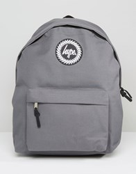 Hype Backpack In Grey Grey