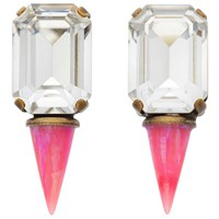 Lionette By Noa Sade Gali Earrings Clear Hot Pink