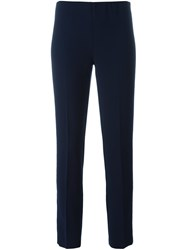 P.A.R.O.S.H. Skinny Cropped Trousers Blue
