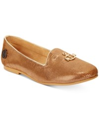 Loly In The Sky Gertrudis Anchor Flats Women's Shoes Gold