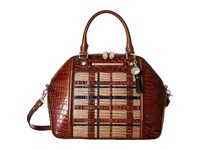 Brahmin Hudson Satchel Pecan Satchel Handbags Brown