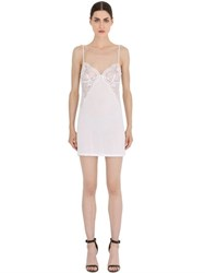 La Perla Begonia Modal And Lace Night Gown