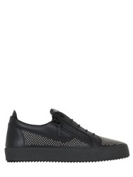 Giuseppe Zanotti Micro Studded Leather Sneakers