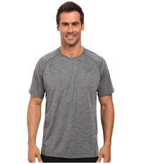 Asics Mesh Short Sleeve Crew Performance Black Men's Clothing
