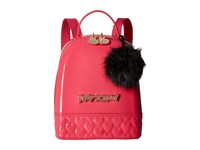 Betsey Johnson Don't Be Jelly Mini Backpack Fuchsia Backpack Bags Pink