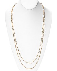 Lauren Ralph Lauren Beaded Necklace 36 Gold