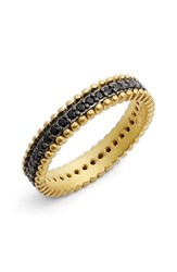 Women's Freida Rothman 'Harlequin Edge' Pave Cubic Zirconia Band Ring