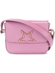 Golden Goose Deluxe Brand 'Vedette' Shoulder Bag Pink And Purple