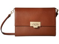Lodis Stephanie Rfid Under Lock Key Eden Small Crossbody Chestnut Cross Body Handbags Brown