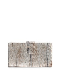 Beirn Watersnake Continental Wallet Distressed Silver