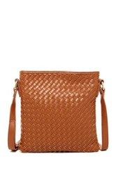 Shiraleah Lola Vegan Leather Crossbody Brown