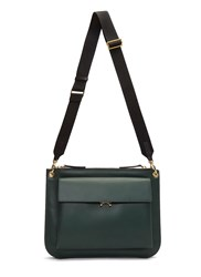 Marni Bandoleer Pocket Crossbody Bag Green