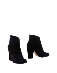 Audley Ankle Boots Dark Blue