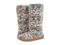 Sanuk Toasty Tails Dusty Teal Speckle Women's Pull On Boots Multi