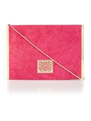 Biba Bethany Bar Crossbody Handbag Pink