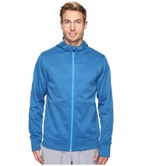 The North Face Ampere Full Zip Hoodie Banff Blue Blue Aster Men's Sweatshirt Black