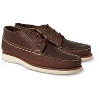 Red Wing Shoes Leather Chukka Boots Brown