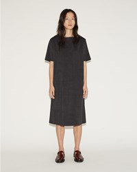 Moderne Didion Dress Charcoal