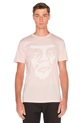 Obey Creeper Superior Tee Pink