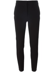 Emilio Pucci Cropped Tailored Trousers Black