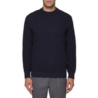 Nn.07 Nn07 Navy Wool Franz Sweater Blue