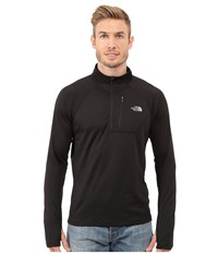 The North Face Impulse Active 1 4 Zip Pullover Tnf Black Men's Long Sleeve Pullover