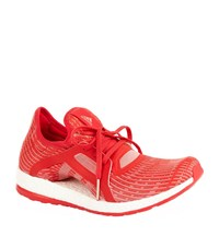 Adidas Pure Boost X Running Shoes Female Red
