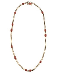 Emilio Pucci Necklaces Brick Red