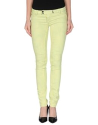 Met Denim Pants Acid Green