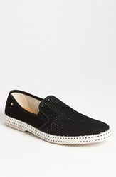 Men's Rivieras 'Classic' Slip On Noir Black