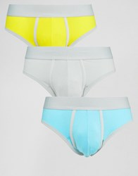 Asos U Bound Briefs 3 Pack Multi