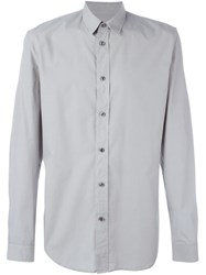 Maison Martin Margiela Classic Long Sleeve Shirt Grey