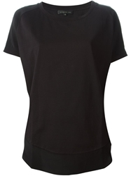Barbara Bui Curved Hem T Shirt Blouse