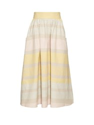 Mara Hoffman Striped Organic Cotton Skirt Multi
