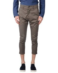 Novemb3r Trousers 3 4 Length Trousers Men Khaki