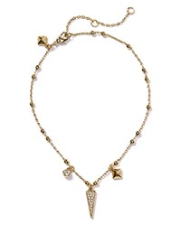 Rebecca Minkoff Charm Anklet Gold