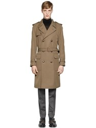 Boglioli Wool Blend Trench Coat