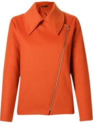 Andrea Marques Side Zip Fastening Jacket Yellow And Orange