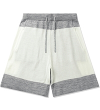 Hall Of Fame Heather Grey Oatmeal 4 Points Shorts