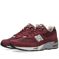 New Balance M991ebs Made In England Red