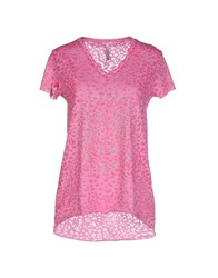 Scee By Twin Set Topwear T Shirts Women Pink