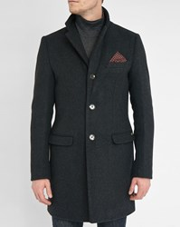 Scotch And Soda Charcoal Overcoat