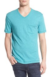 Men's Original Penguin V Neck Pocket T Shirt