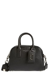 Marc Jacobs 'Small Gotham' Bauletto Satchel Black