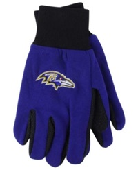 Forever Collectibles Baltimore Ravens Palm Gloves