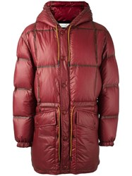 Golden Goose Deluxe Brand 'Ramsay' Padded Coat Red