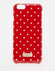 Cath Kidston Mini Dot Iphone 6 S Case Red