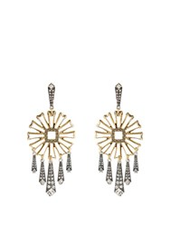 Lulu Frost Daisy Earrings Silver Gold