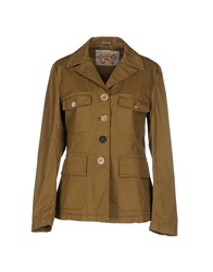 Maliparmi Suits And Jackets Blazers Women Military Green